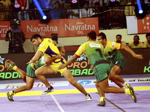 Telugu Titans, Patna Pirates, Pro Kabaddi, Pro Kabaddi League, Kabaddi