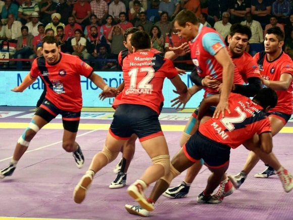 Dabang Delhi, Jaipur Pink Panther, Pro Kabaddi League, Pro Kabaddi, Kabaddi, Kabaddi League, Sports Pro Kabaddi, Sports News, New Delhi