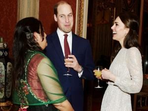 Britain's Prince William and Kate the Duchess of Cambridge