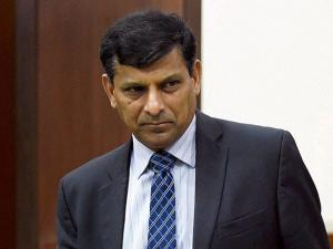 RBI Governor Raghuram Rajan at the launch of 'Sachet'
