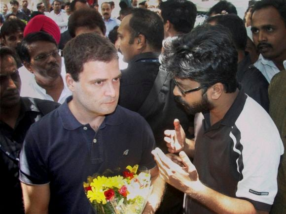 Rahul Gandhi, FTII, Gajendra Chauhan, Film, Television, FTII students, Film and Television Institute, India, Pune