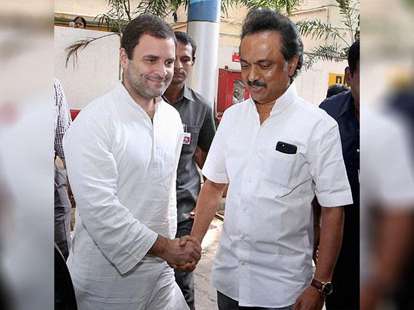 Karunanidhi, Rahul Gandhi, MK Stalin, DMK, Congress, Kauvery hospital