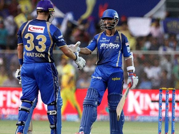 Ajinkya Rahane, Shane Watson, IPL, Pepsi IPL, Rajasthan Royal, Chennai Super King, CSK