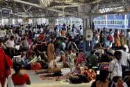 Gross negligence behind Rajdhani derailment: Lalu