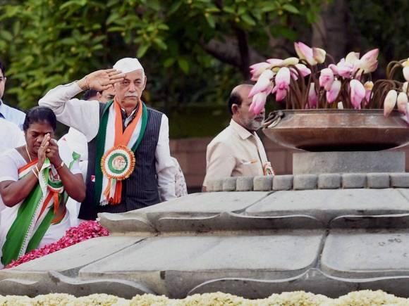 Rajiv Gandhi, Congress, Vir Bhumi, New Delhi