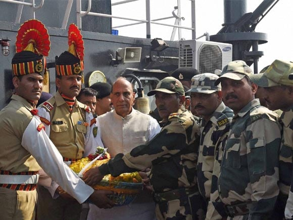 Home Minister of India, Rajnath Singh, West Bengal Chief Minister, Mamata Banerjee, BSF, BSF Jawan