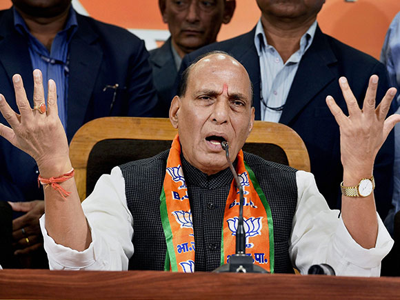 UP election, Rajnath Singh, BJP, Uttar Pradesh