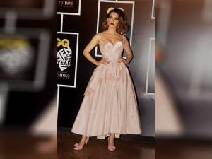 Kangana Ranaut attends the GQ India Men of the Year Awards 2016