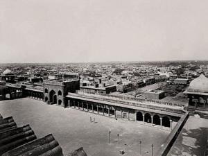 Iconic image of Delhi's Jama Masjid taken nearly 150 years ago by British photographers Samuel Bourne and Charles Shepherd