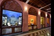 A view of the Rashtrapati Bhavan museum in New Delhi