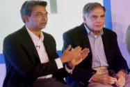 Ratan Tata with Rajan Anandan