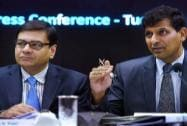 Urjit Patel & Raghuram Rajan at the PC