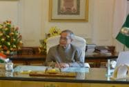 Pranab Mukherjee in the Study