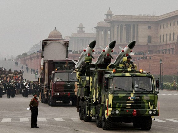 India, Indian Army,  Akash, Weapon system, Republic Day, 26th January, Parade, Rajpath