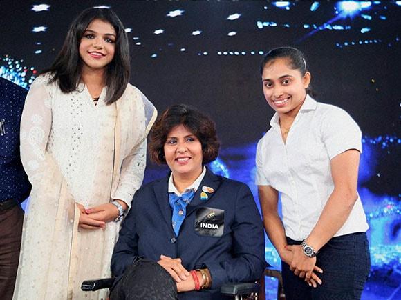 NDTV, Deepa Malik, Dipa Karmakar, Sakshi Malik, Rio Olympic, Youth for change conclave