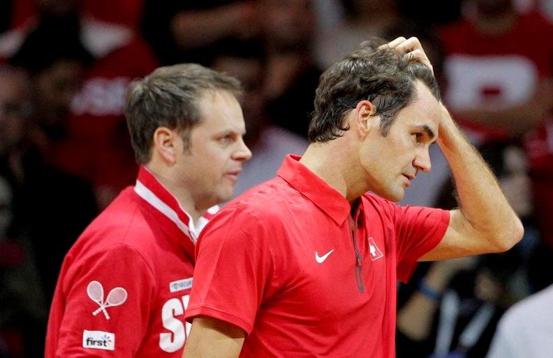 Davis Cup final, davis cup 2014, Roger Federer, Richard Gasquet, Switzerland's first Davis Cup, Stanislas Wawrinka, pair Julien Benneteau