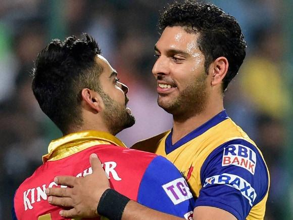 Yuvraj Singh, Virat Kohli, IPL, Pepsi IPL, RCB, Royal Challengers Bangalore, Delhi Daredevils