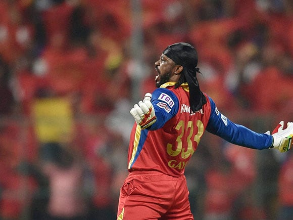 Chris Gayle, IPL, IPL Pepsi, Royal Challengers Bangalore, Kings XI Punjab, RCB