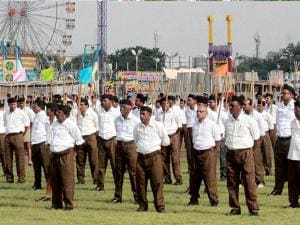 RSS volunteers wearing trousers