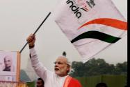 Prime Minister Narendra Modi flags off the 'Run for Unity' at Rajpath on the occasion of Sardar Vallabhbhai Patel's birth anniversary