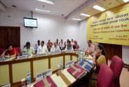 First National Level Committee meeting on Saansad Adarsh Gram Yojana in New Delhi