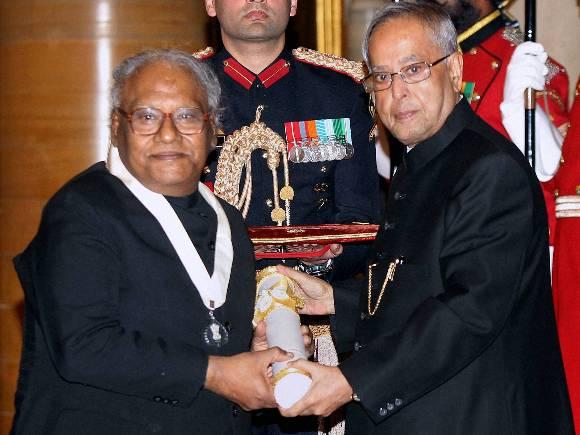 Pranab Mukherjee, C N R Rao