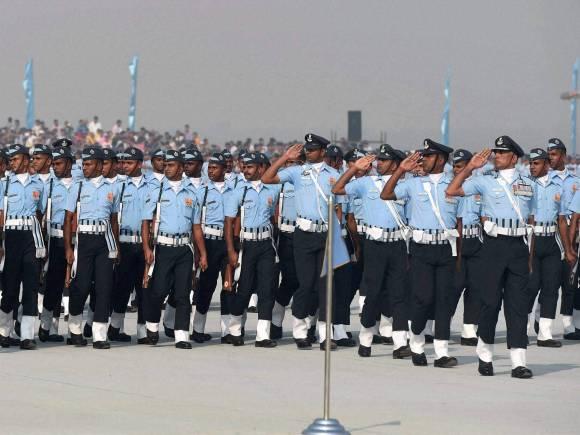 Sachin Tendulkar, Air Force Day celebrations, IAF jawan march