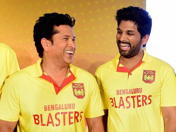 Bengaluru Blasters, Pullela Gopichand, Sachin Tendulkar, Premier Badminton League, Badminton, Allu Arjun