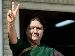 V K Sasikala set to become Tamil Nadu CM in Chennai