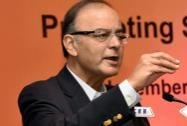 Finance Minister Arun Jaitley addresses the opening session of Services Conclave 2014