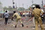 Several Injured as Police Lathicharge ABVP Protesters