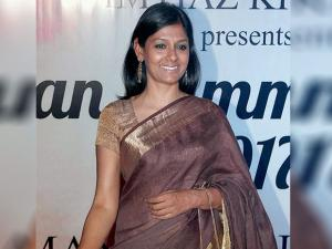 Nandita Das during the Mijwan Summer 2017 fashion show