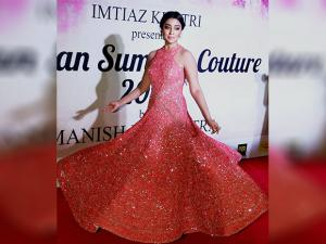 Shriya Saran during the Mijwan Summer 2017 fashion show in Mumbai