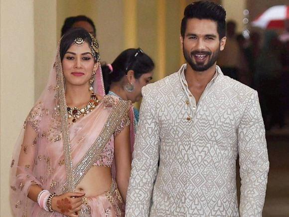 Shahid Kapoor, Mira Rajput, Wedding, Supriya Pathak, Pankaj Kapoor, Kareena Kapoor, Vidya Balan, Priyanka Chopra, Anushka Sharma, Bipasha Basu, Delhi
