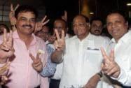 Dilip Vengsarkar, Sharad Pawar and Ashish Shelar