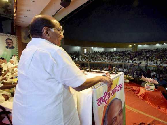 Sharad Pawar, Ajit Pawar, NCP, Praful Patel, Tariq Anwar, Nationalist Congress Party, Patna, Sixth National Convention