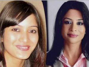 Indrani Mukerjea and daughter Sheena Bora