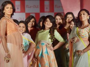 Moms-to-be Shveta Salve and supermodel Carol Gracias along with 12 other proud expecting mothers walked the ramp