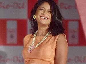 Pregnant model Carol Gracias walks the ramp on the eve of mother day  in Mumbai