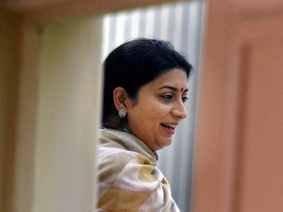Smriti Irani, HRD Minister, Teacher Education, Vigyan Bhawan, New Delhi, State education