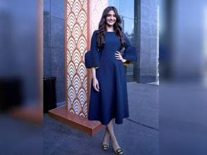 Actress Sonam Kapoor at an event in Mumbai