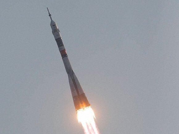 Soyuz-FG rocket, Soyuz rocket, soyuz capsule, Soyuz MS space ship