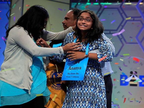 Spelling Bee, Ananya Vinay, Scripps National Spelling Bee