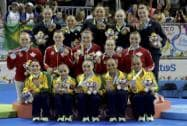 The women's artistic gymnastics teams