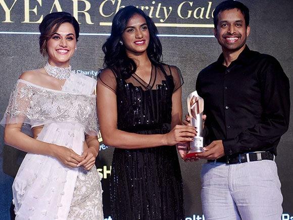 Sportsperson of the Year, P.V.Sindhu, Pullela Gopichand, Deepa Malik, Jwala Gutta, Tapsee Pannu