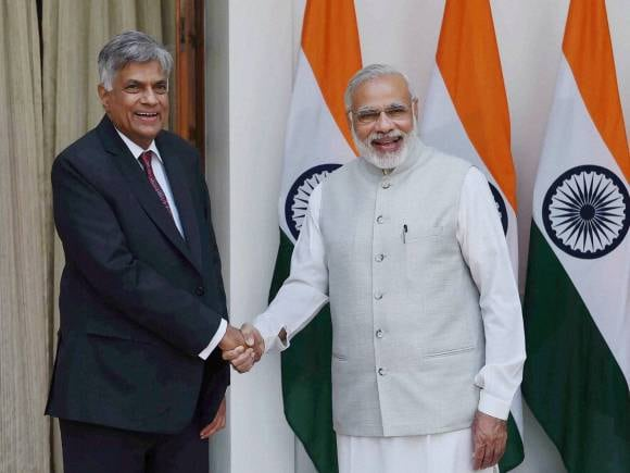 Narendra Modi, Wickremesinghe, Fishermen issue, Ranil Wickremesinghe, Sri Lankan PM, India Sri Lanka, Wickeremesinghe India, Modi Sri Lanka, Hyderabad House, New Delhi