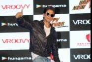 Bollywood actor Shah Rukh Khan at a promotional event for the film Happy New Year