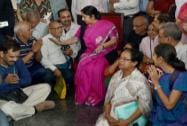 Sushma Swaraj Flags Off First Batch of Kailash Mansarovar Pilgrims