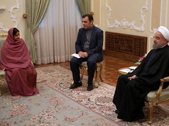 Chabahar project, Sushma Swaraj, sushma swaraj iran, Hassan Rouhani, Iran President, Foreign Minister of India, Iran