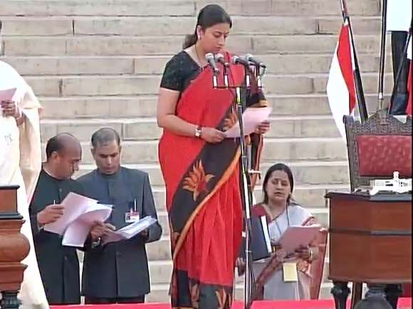 Smriti Irani, Human Resource Development ministry